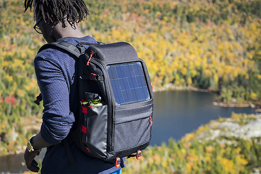 Voltaic Systems, solar backpack, solar backpacks, Array by Voltaic Systems, OffGrid by Voltaic Systems, solar, solar power, solar energy, solar panel, solar panels, Kickstarter, Kickstarter solar backpack, Kickstarter solar backpacks, Kickstarter campaign