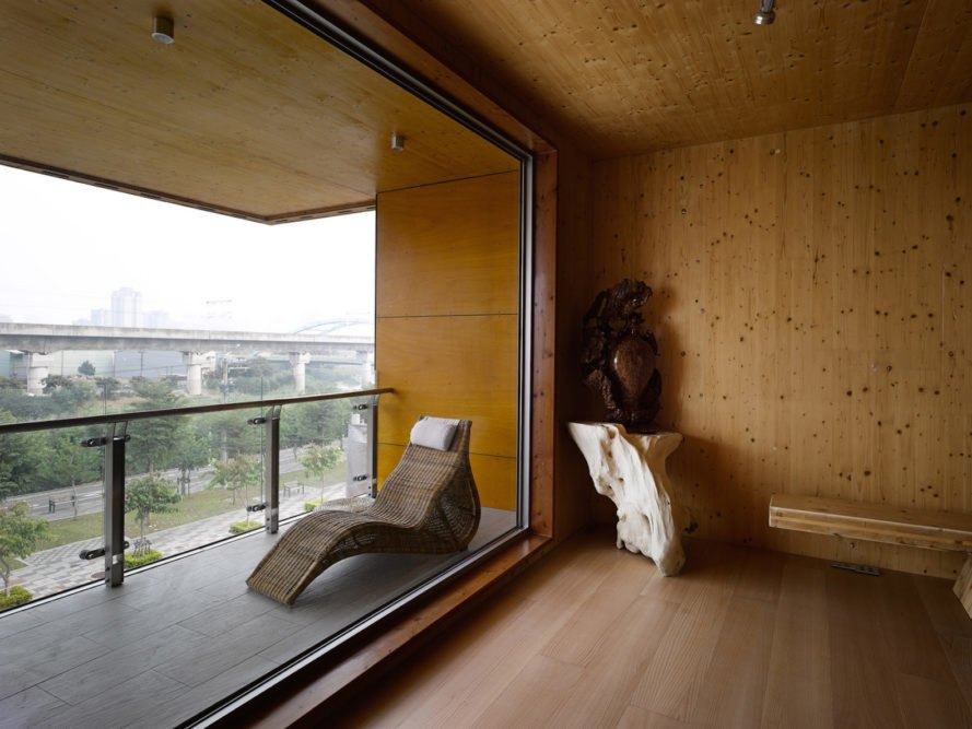WoodTek Headquarters by Origin Architects & Planners, cross laminated timber architecture, CLT architecture, cross laminated timber architecture in Asia, CLT architecture in Asia, Taiwan's first cross laminated timber building, cross laminated timber by WoodTek, cross laminated timber in humid climates