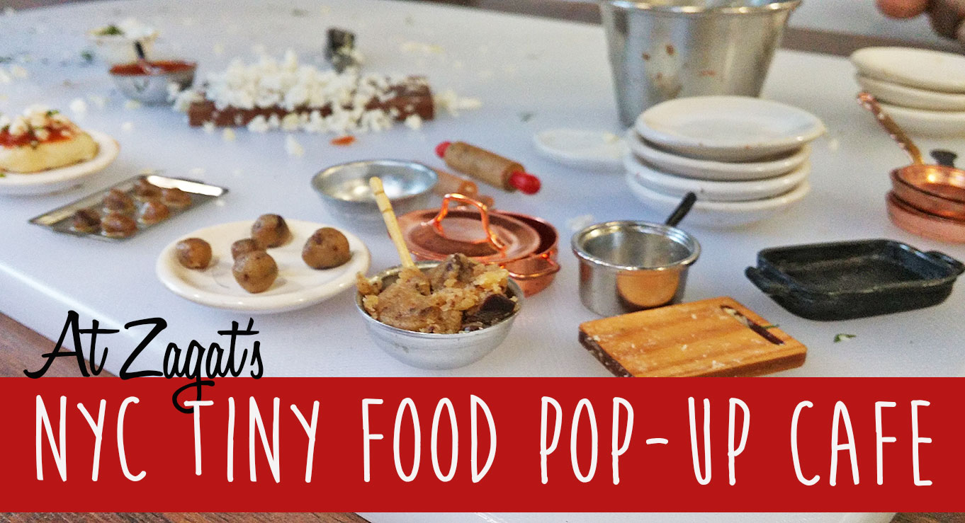 zagat 39 s tiny pop up cafe serves up miniature munchies cooked on teeny stoves video inhabitat. Black Bedroom Furniture Sets. Home Design Ideas