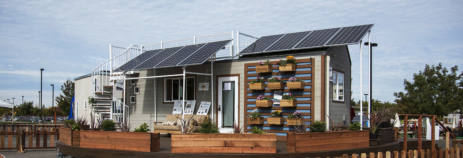 House design competition - Revolving Solar Powered Home For Veterans Wins California S First Tiny House Competition