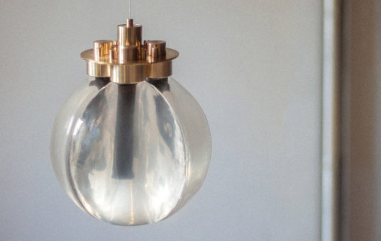 Intriguing Spark Of Light Lamp Is Powered By