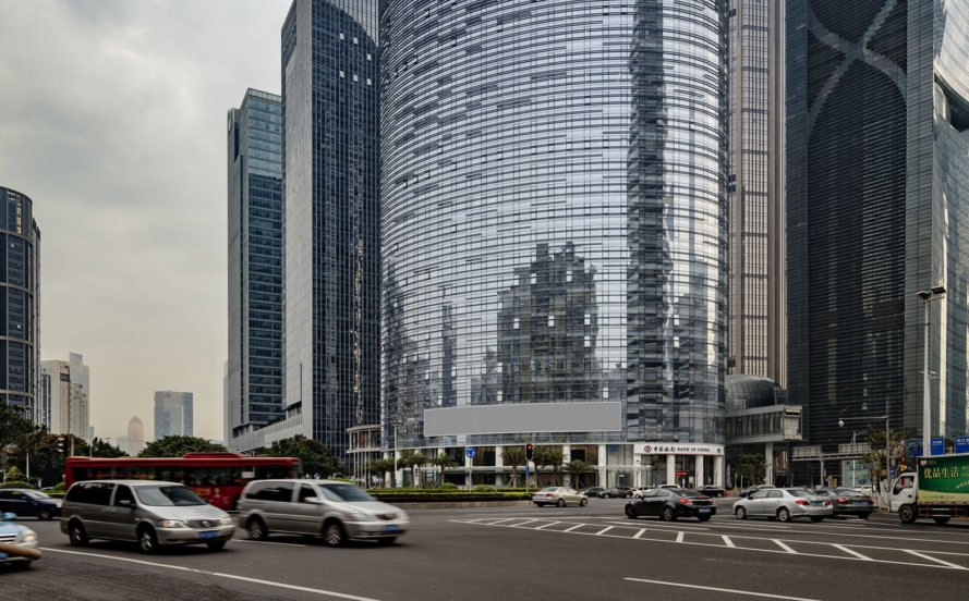 Agile Corporation Headquarters Tower, SOM Architects, green tower, Guangzhou, China, high performance facade, fritted glass, solar gain, energy consumption, green architecture