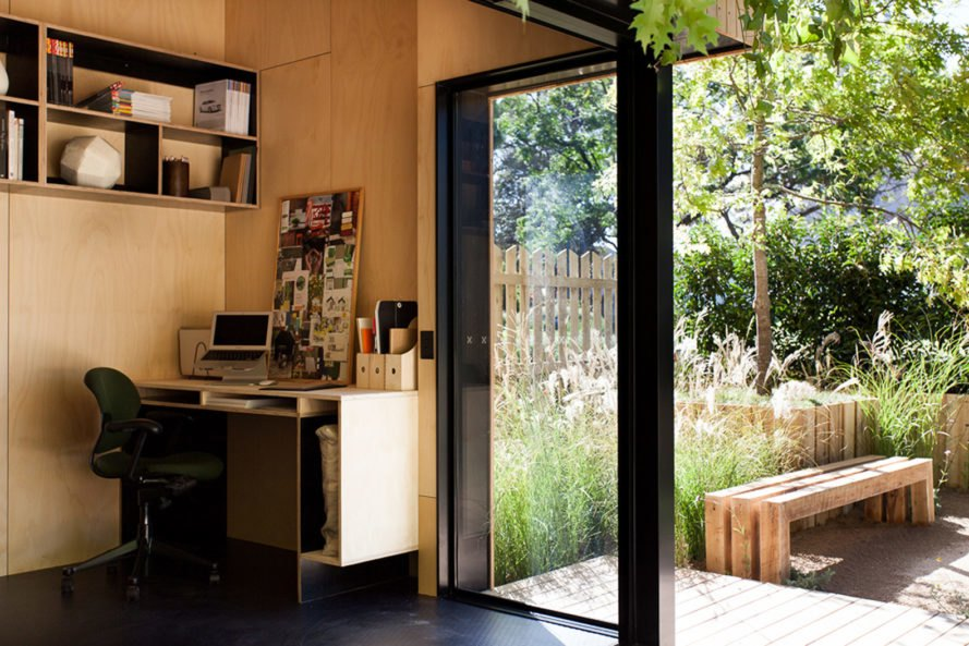 Backyard Room, tiny homes, prefab, energy efficiency, green architecture, steel structure, timber frame, LED lights, Australia