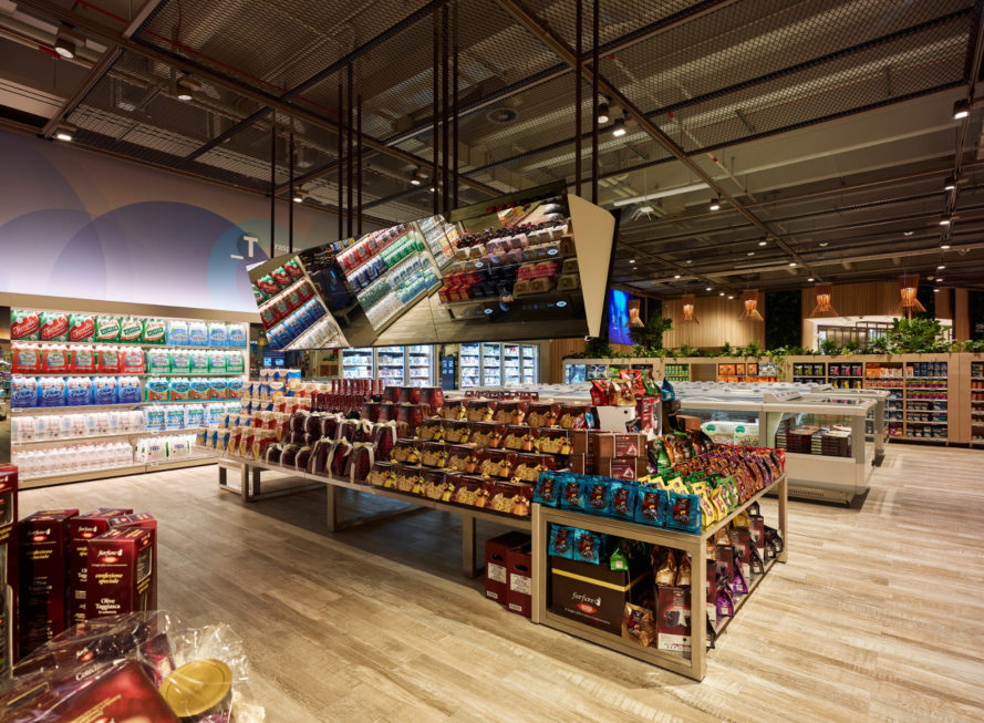 carlo ratti, carlo ratti associati, milan, italy, coop, supermarket, smart supermarket, augmented reality, interactive shopping display, interactive supermarket, consumer experience