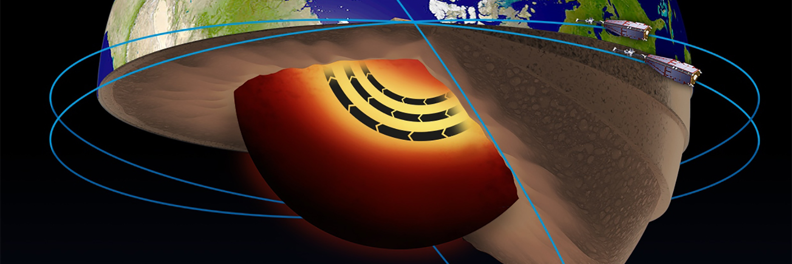 Molten jet stream found hurtling through Earth's core
