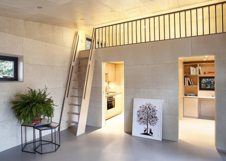 ecospace studios, ipt architects, garden studio, prefabricated structure, prefabricated buildings, prefabricated studio, modular building, modular prefab building, home office, guest house, london