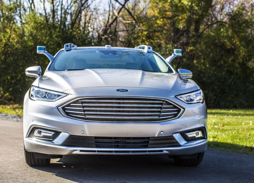 ford, ford fusion, ford fusion hybrid, self-driving car, self-driving cars, autonomous cars, autonomous vehicles, ces 2017