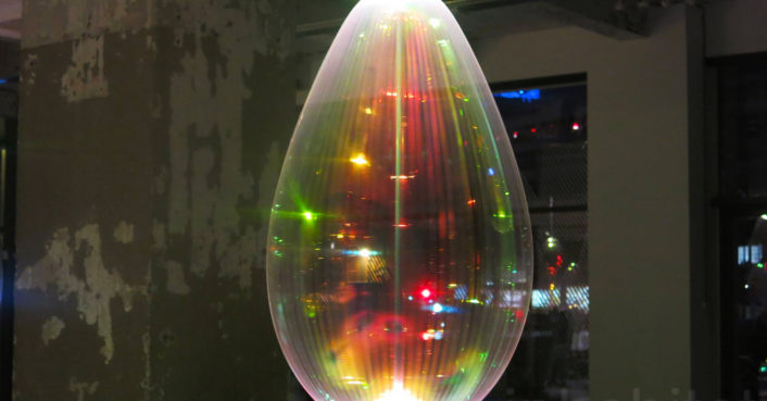 These incredible lights look exactly like soap bubbles ...