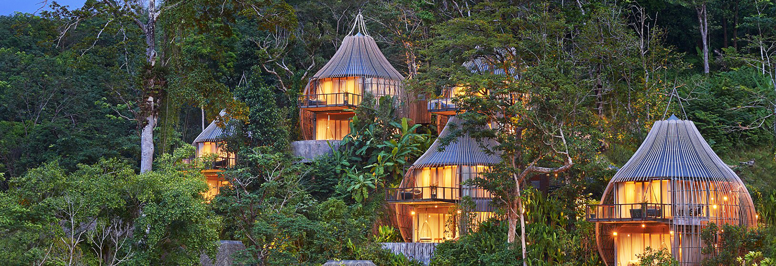 Thai eco-resort delights guests with woven pods and other sublime dwellings