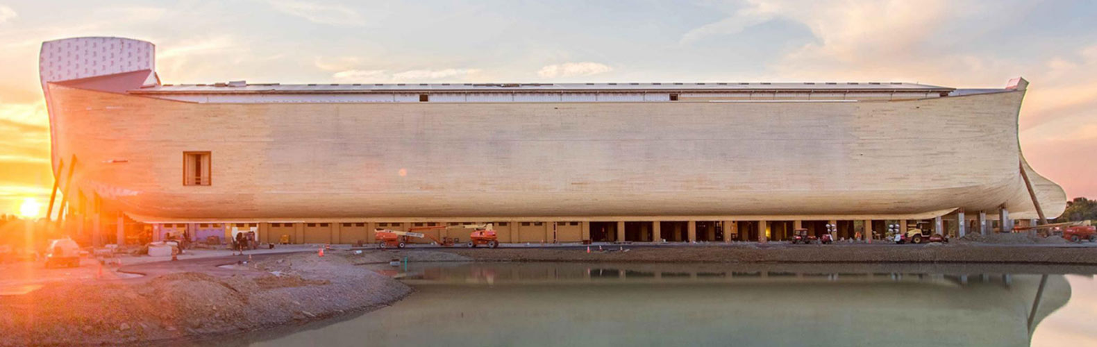 Architecture, ark, Ark Encounter, flash flood, flash flooding, flood, flooding, floods, kentucky, life-size noah's ark, noah's ark, religion, religious architecture