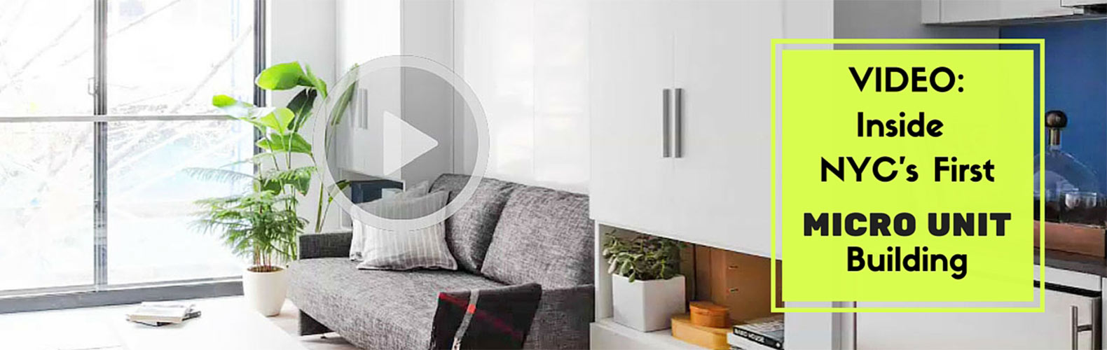 Inside NYC\'s first micro apartment building + transforming furniture ...