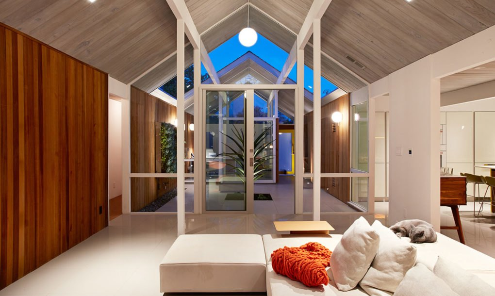 Remodeled Eichler House Is An Oasis Of Calm In The Heart