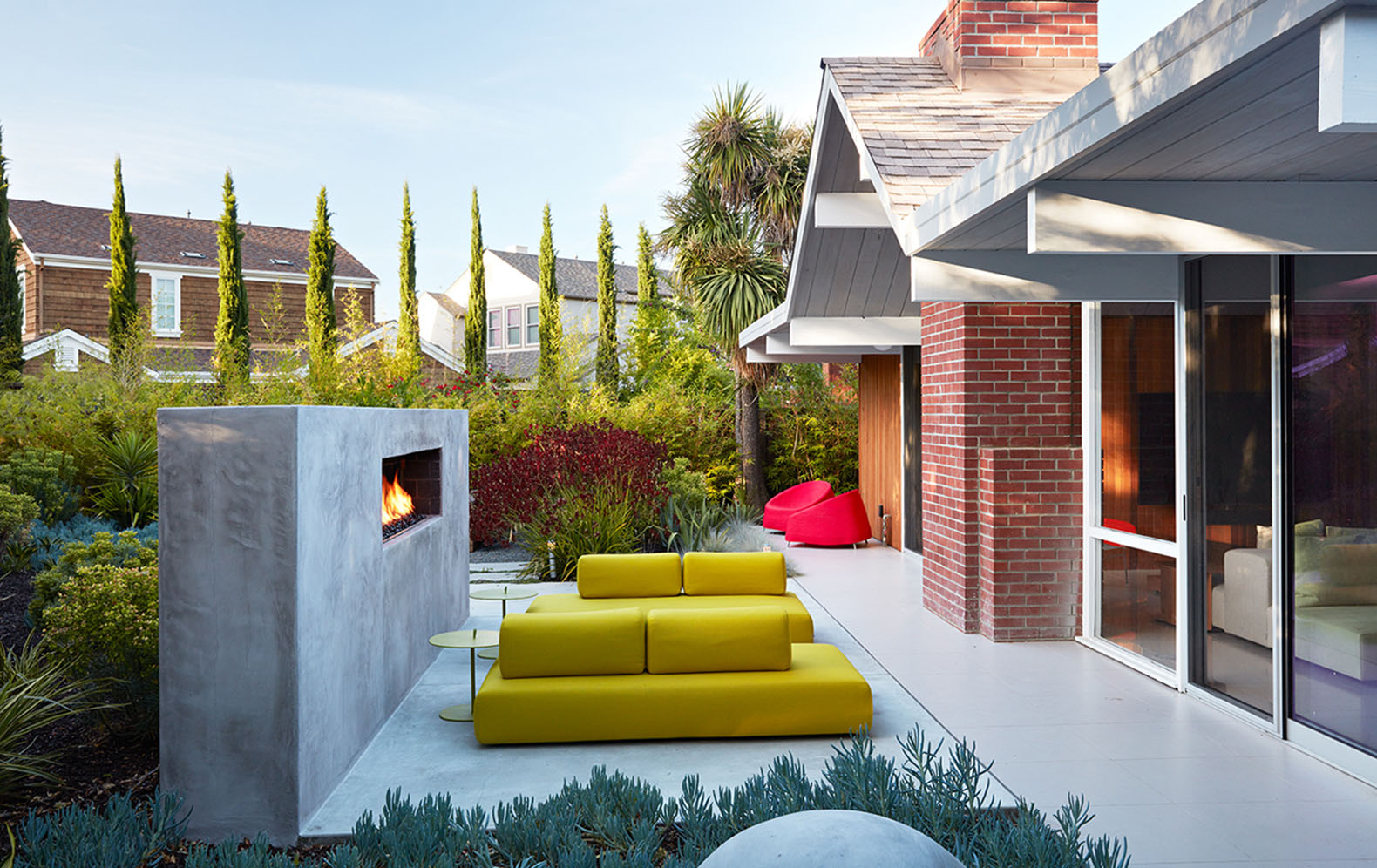 twitter doubles silicon valley office. Remodeled Eichler House Is An Oasis Of Calm In The Heart Silicon Valley Twitter Doubles Office V