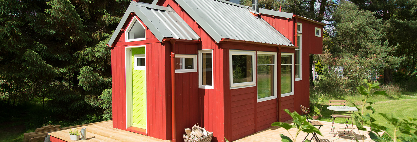 Charming off-grid Scandinavian-inspired tiny home is passive and energy efficient