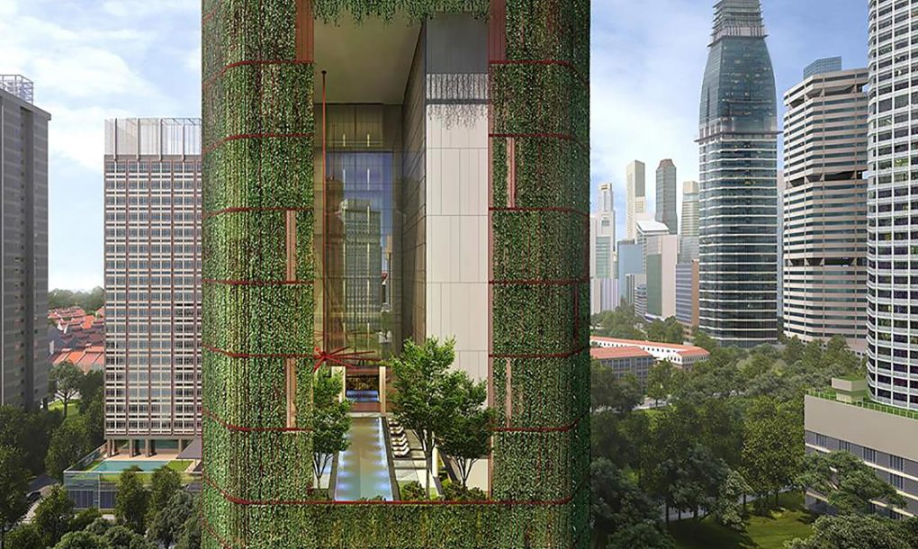 This Plant Covered Singapore Skyscraper Is The Tropical