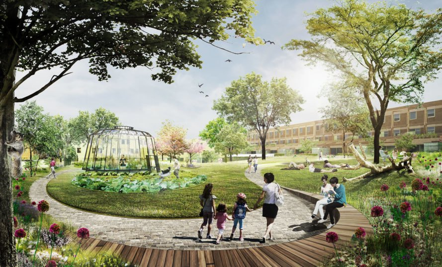 Parkstad Rotterdam By Delva Landscape Architects And
