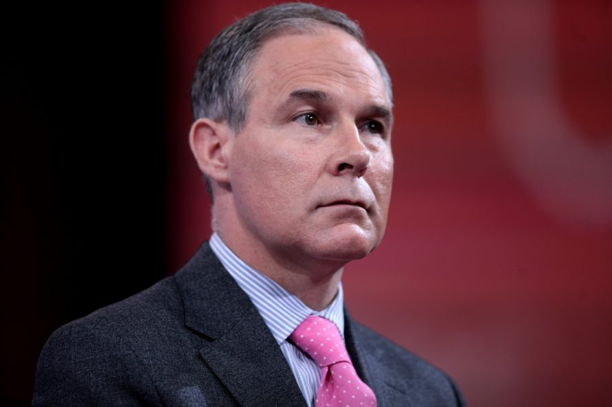 Donald Trump, Scott Pruitt, EPA, Environmental Protection Agency