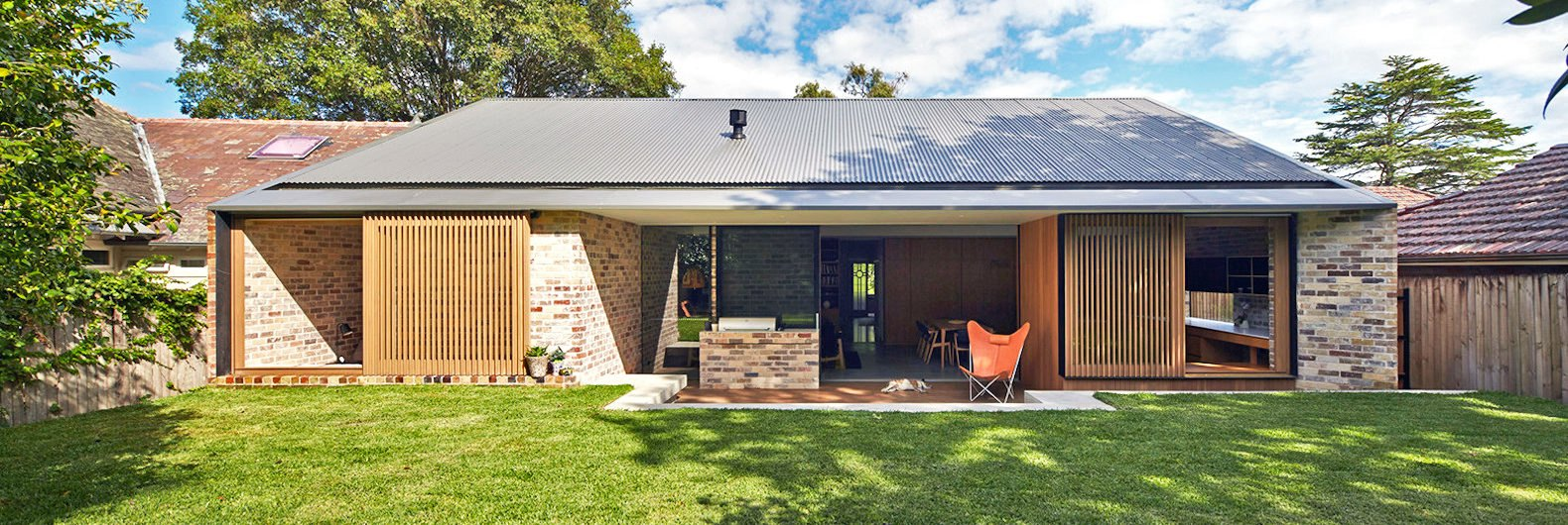 Old bungalow transformed into a light filled dwelling with recycled