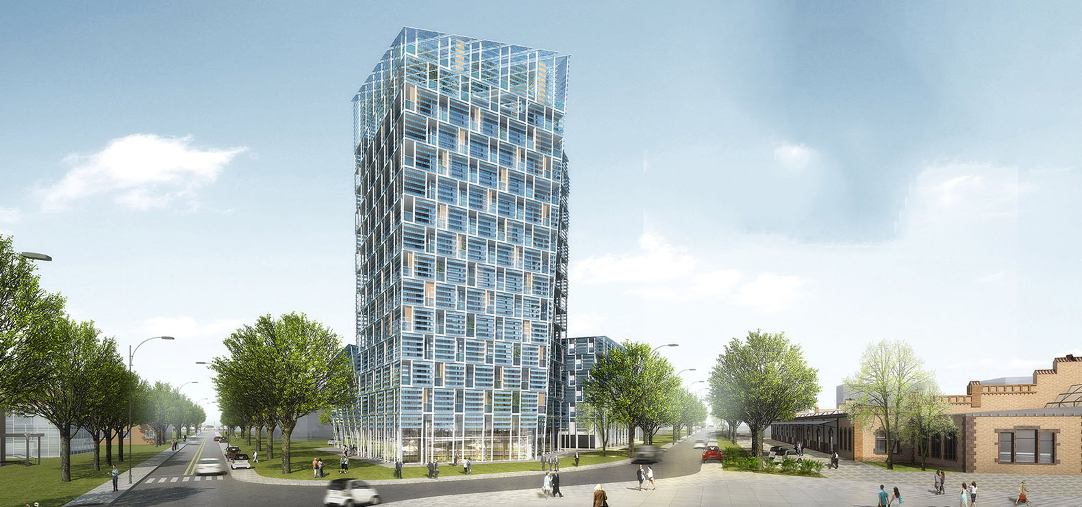 Germany S Solar Powered Smart Green Tower Mimics The