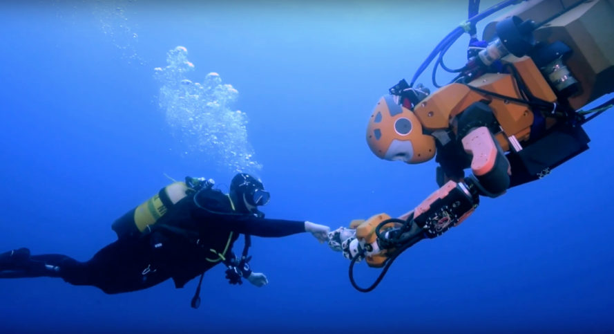 oceanone, ocean one, robotics, robot diver, stanford university, stanford robotics, ocean exploration, oussama khatib, robotic exploration