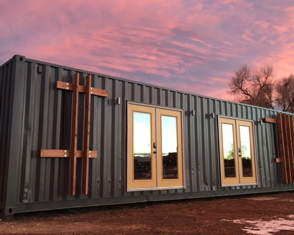 The Intellectual Tiny Home, container home, Colorado, tiny home, green architecture, prefab architecture, green design, compact homes, tiny spaces, storage space