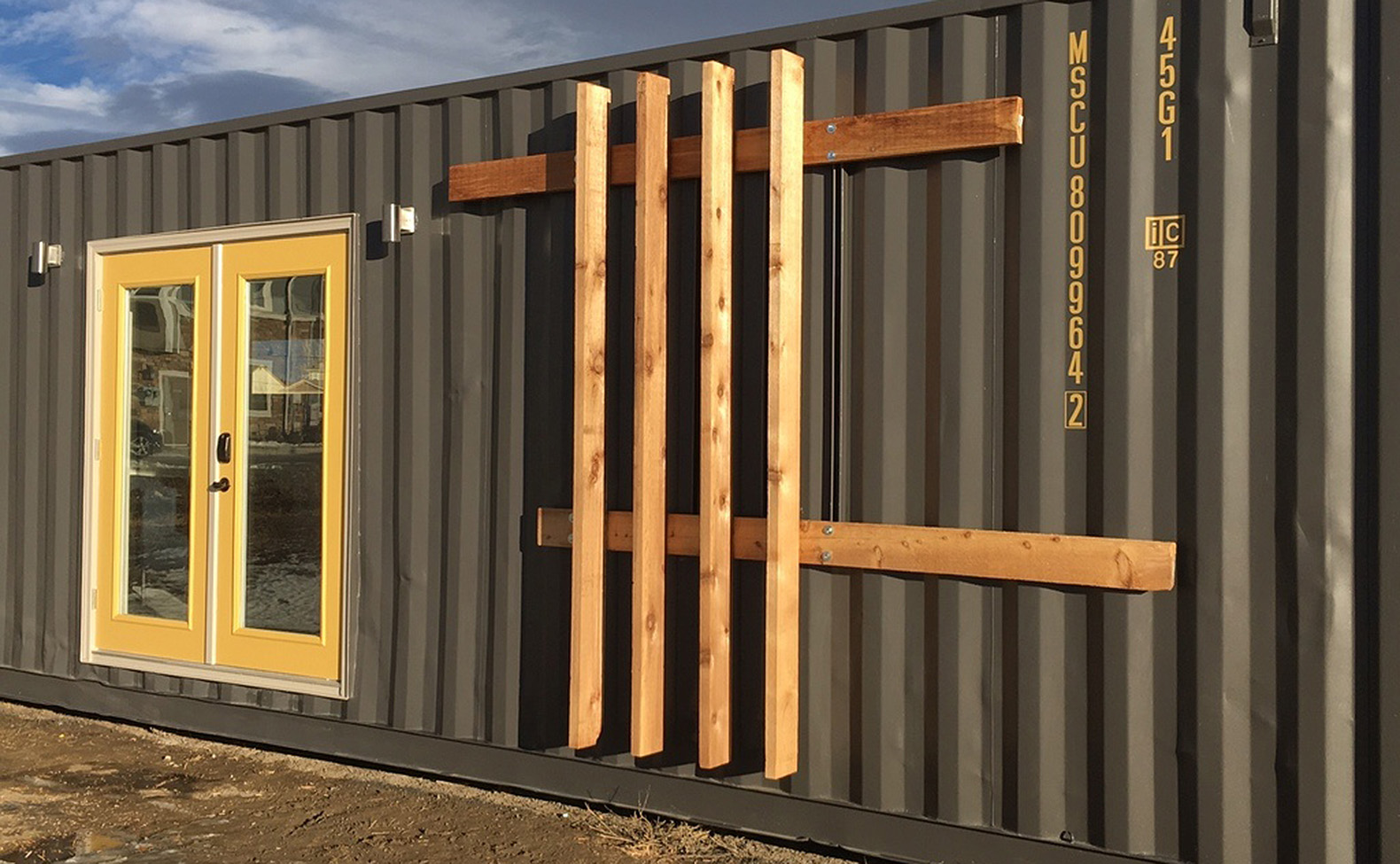 320 Square Foot Tiny Container Home Packs A Surprising