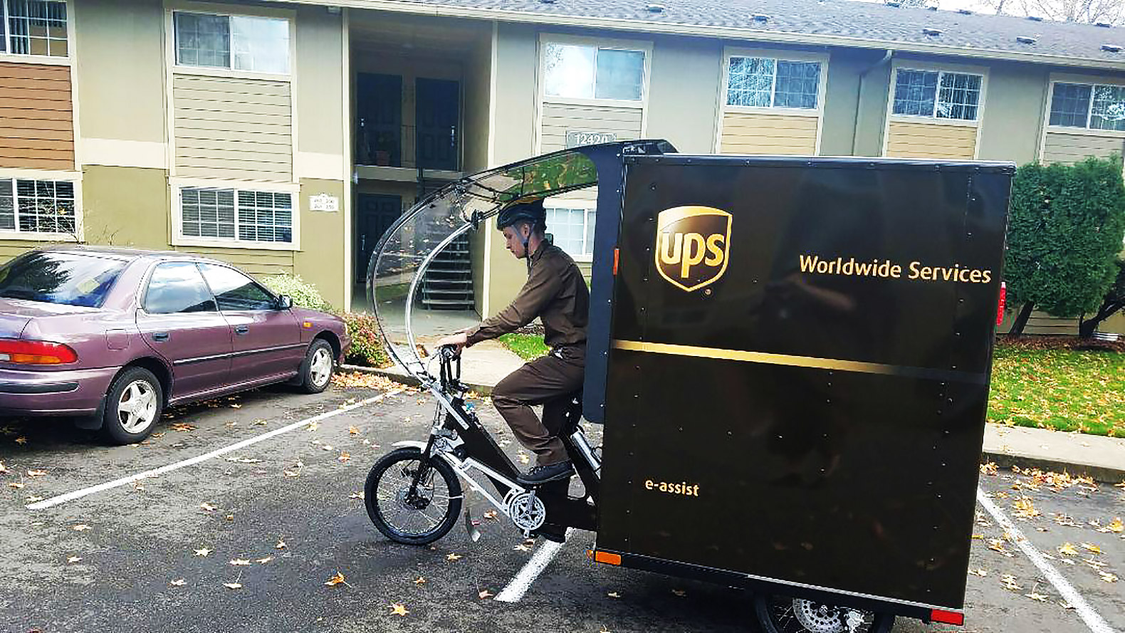 UPS rolls out first e-bike delivery in the United States