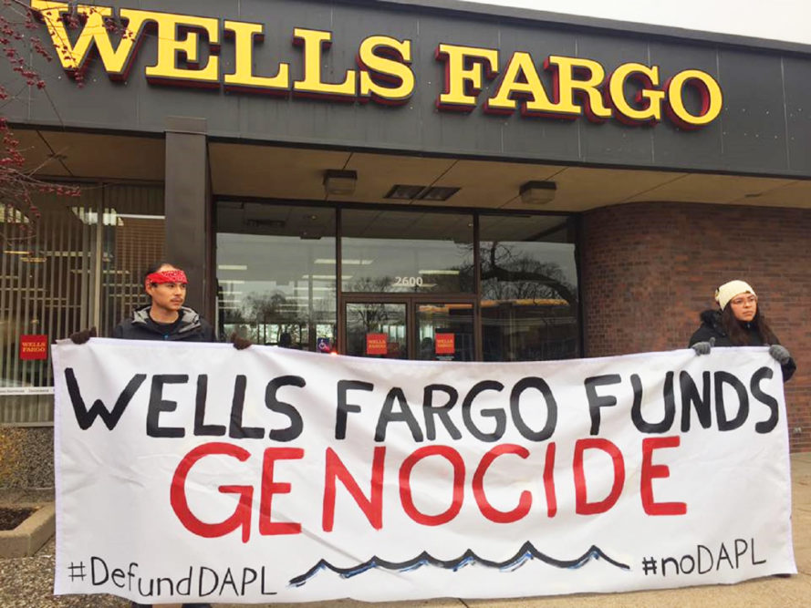 Dakota Access Pipeline, Standing Rock, banks, credit unions, community banks