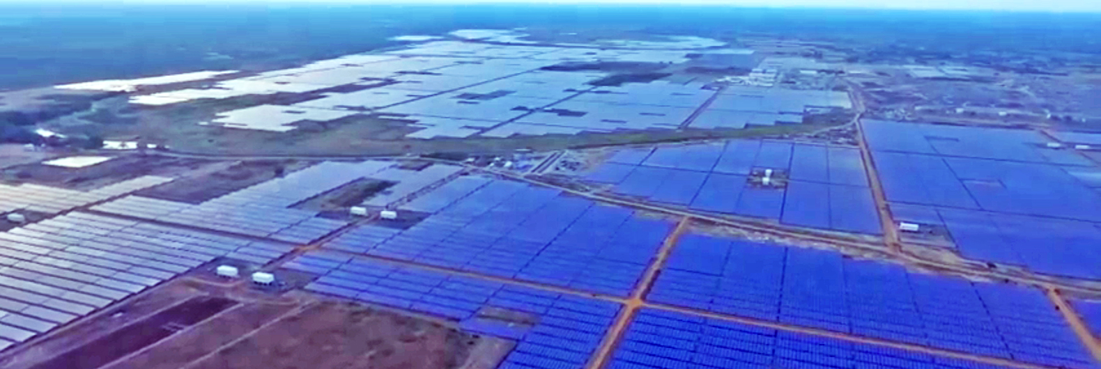 India just fired up the world's largest solar plant to power 150,000 homes