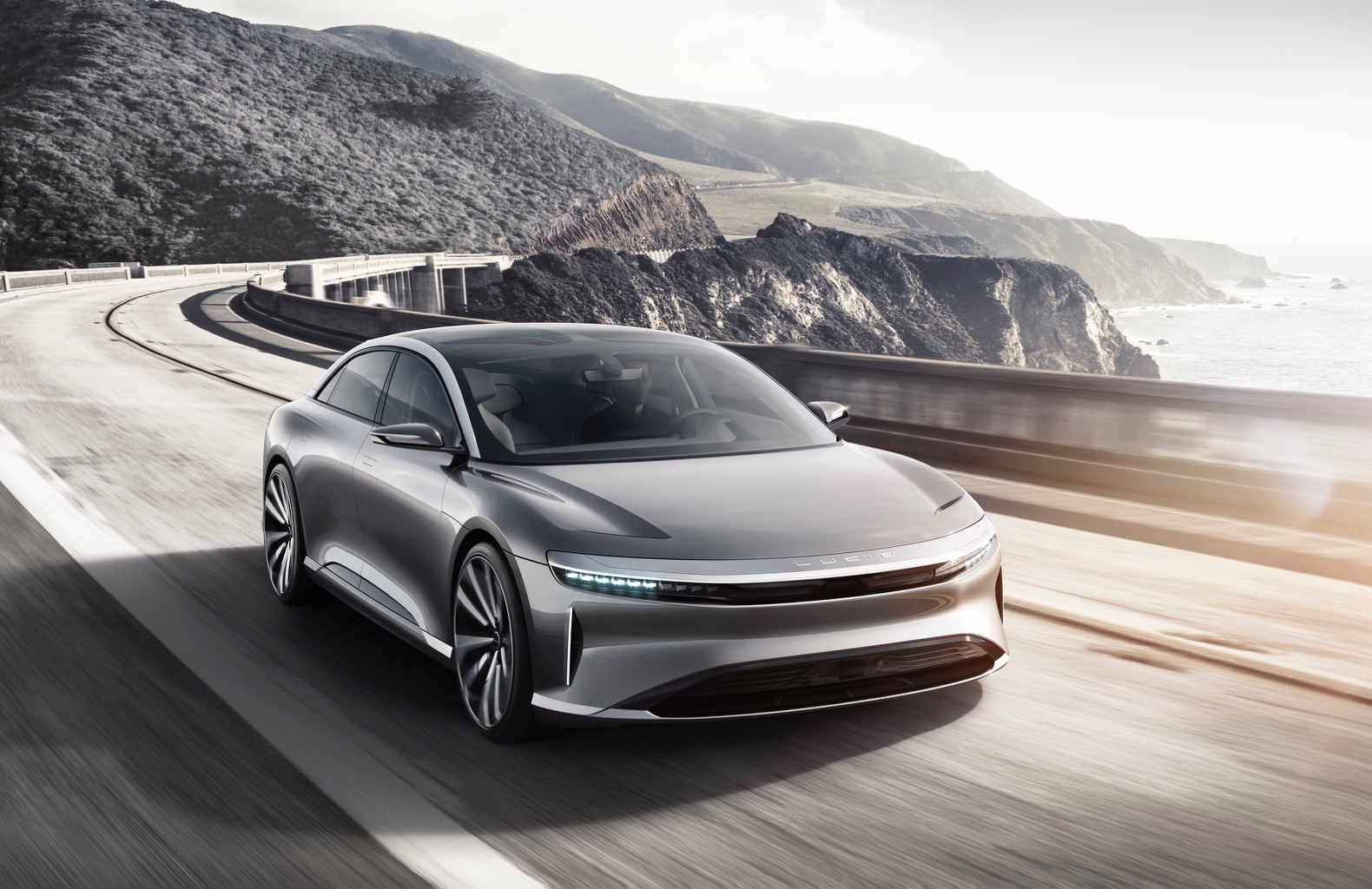 Lucid Motors unveils Tesla-killer electric car that can drive 400 miles on a single charge