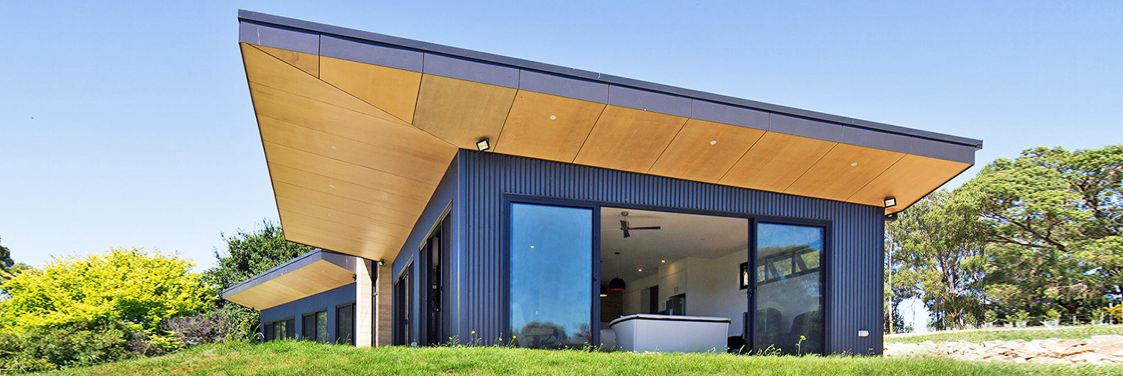 Elegant Rammed Earth Walls Form The Core Of This Modern Australian Home