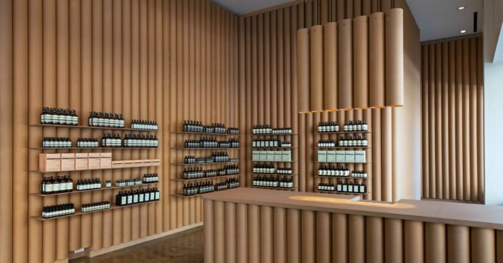 Aesop Store In La Built Completely Out Of Repurposed