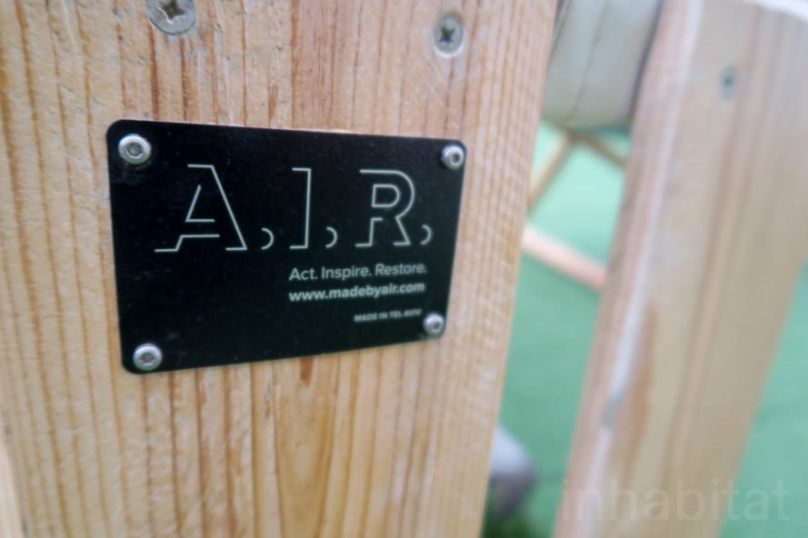 Made by A.I.R., A.I.R. in Israel, AIR in Tel Aviv, Act Inspire Restore social enterprise, social enterprises in Tel Aviv, sex trafficking nonprofit, upcycled pallet furniture, Abraham Hostel furniture, upcycled furniture in Tel Aviv, social impact business in Israel, reclaimed materials business in Tel Aviv