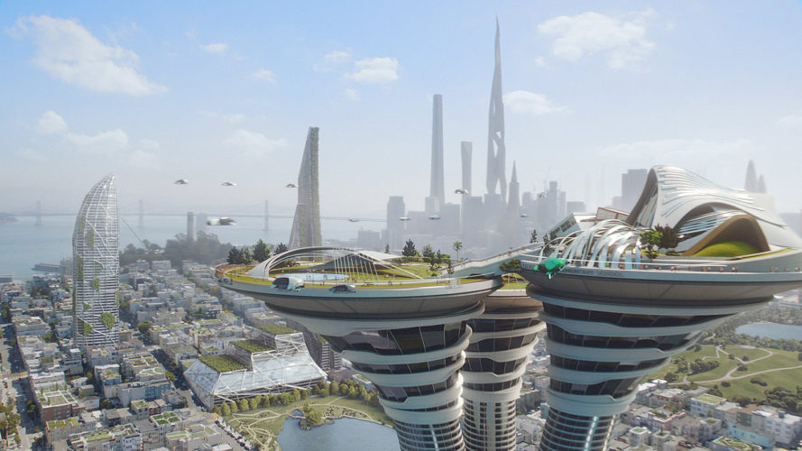 Arconic, The Jetsons, The Jetsons by Arconic, future, futuristic, technology, technologies, skyscraper, skyscrapers, EcoClean, coating, self-cleaning, smog, pollutants, Bloomframe, balcony, balconies, building, buildings, 3D print, 3D printing