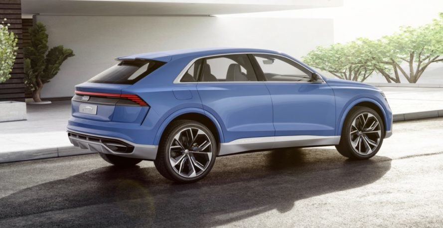 audi q8 plug in hybrid suv concept debuts at the detroit auto show inhabitat green design. Black Bedroom Furniture Sets. Home Design Ideas