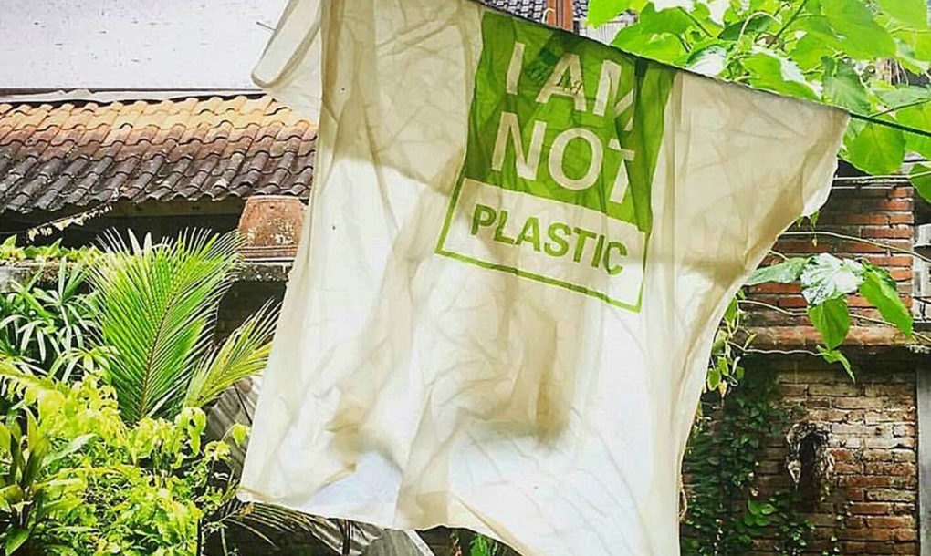 Dissolved Avani Bioplastic Bags From Bali Are Safe Enough