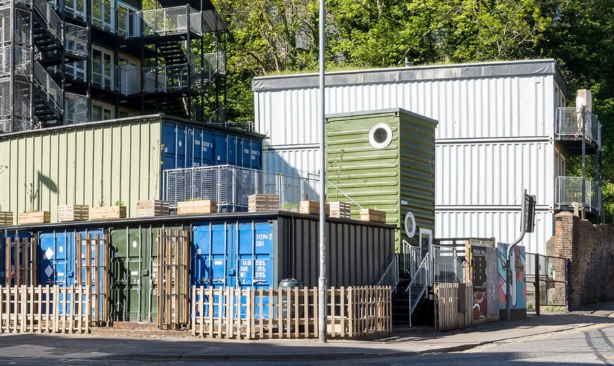 CargoTek, Cobblers Thumb Development, London, emergency housing, temporary housing, shipping containers, semi-permanent, affordable housing, green architecture, prefab, emergency housing