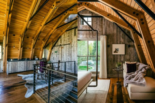 Architects Convert Former Hayloft Into Light Filled Guest Home