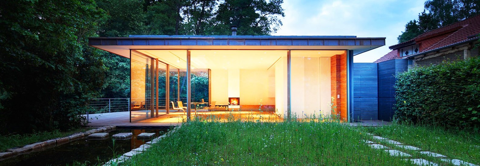 Haus Rheder II tiny home in Germany renovated as a tranquil forest ...