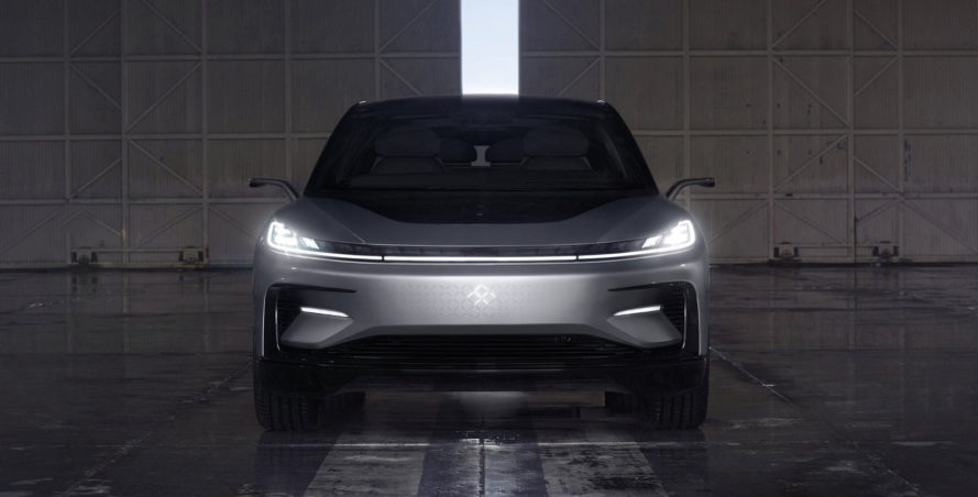 faraday future, faraday future ff91, fastest electric car, tesla, tesla model s, faraday future car factory, ces, ces 2017