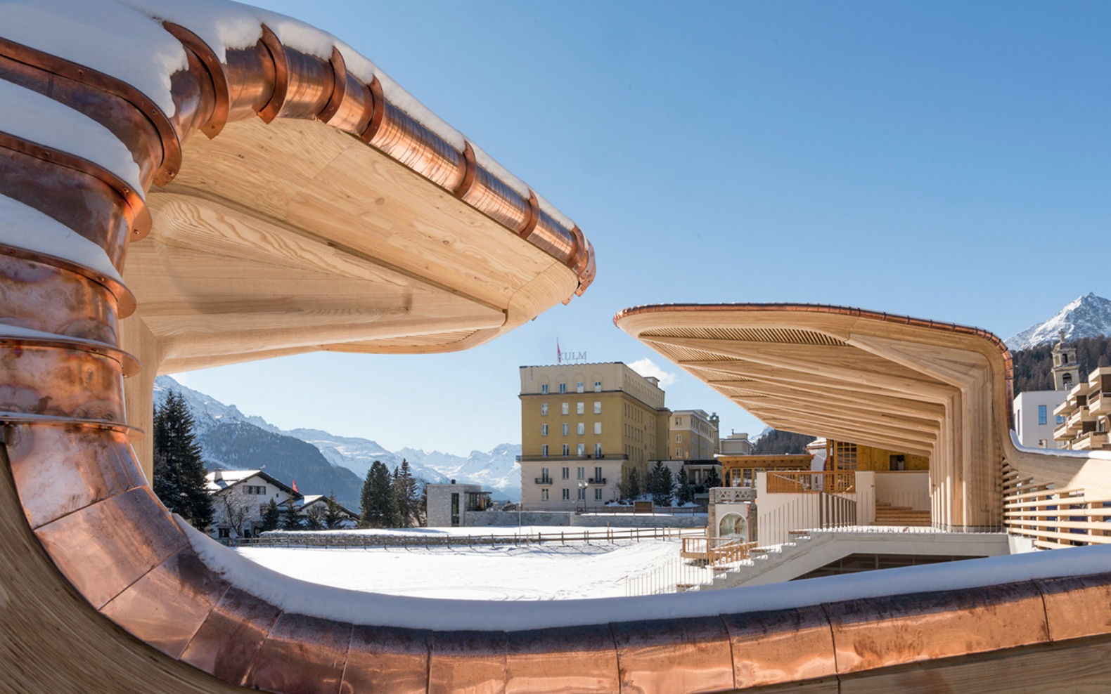 Foster + Partners breathes new life into the Kulm Eispavillon in St Moritz
