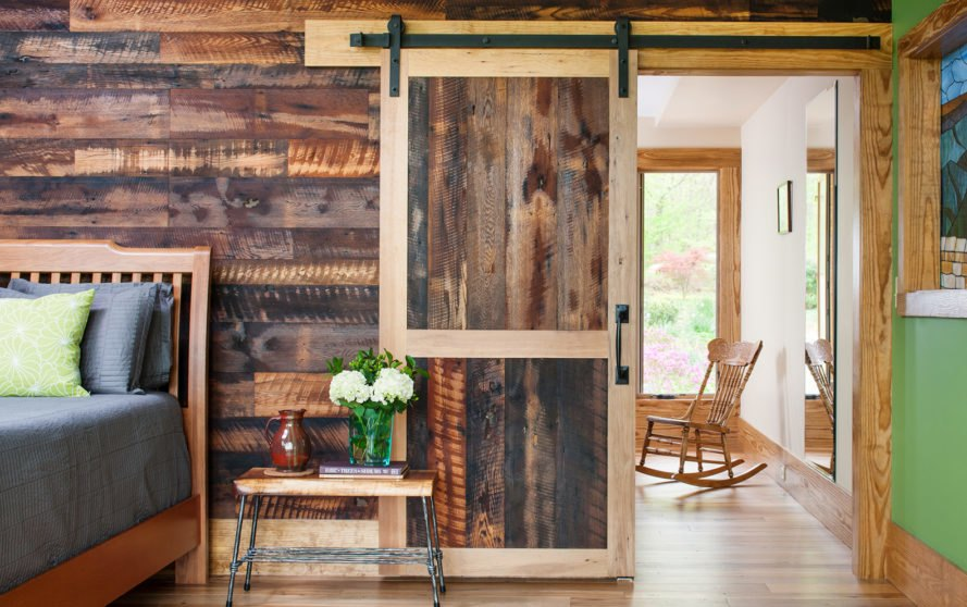 Thrive Architecture, Hickory House, green renovation, Virginia, cedar cladding, cedar, timber cladding, from locally sourced wood, green architecture, LEED lighting, low-flow plumbing