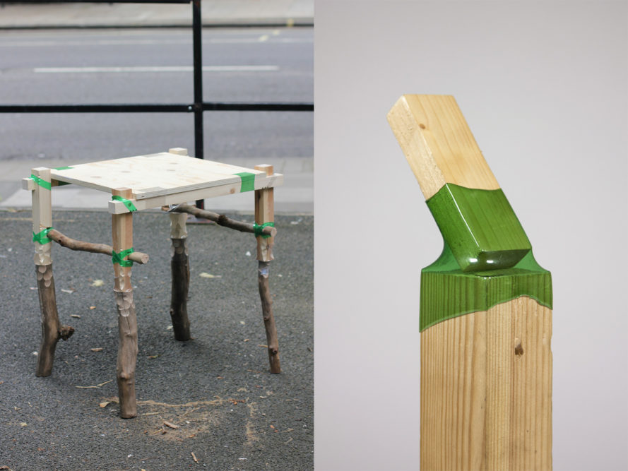 Joining Bottles By Micaella Pedros Plastic Bottle Furniture Material Recycled