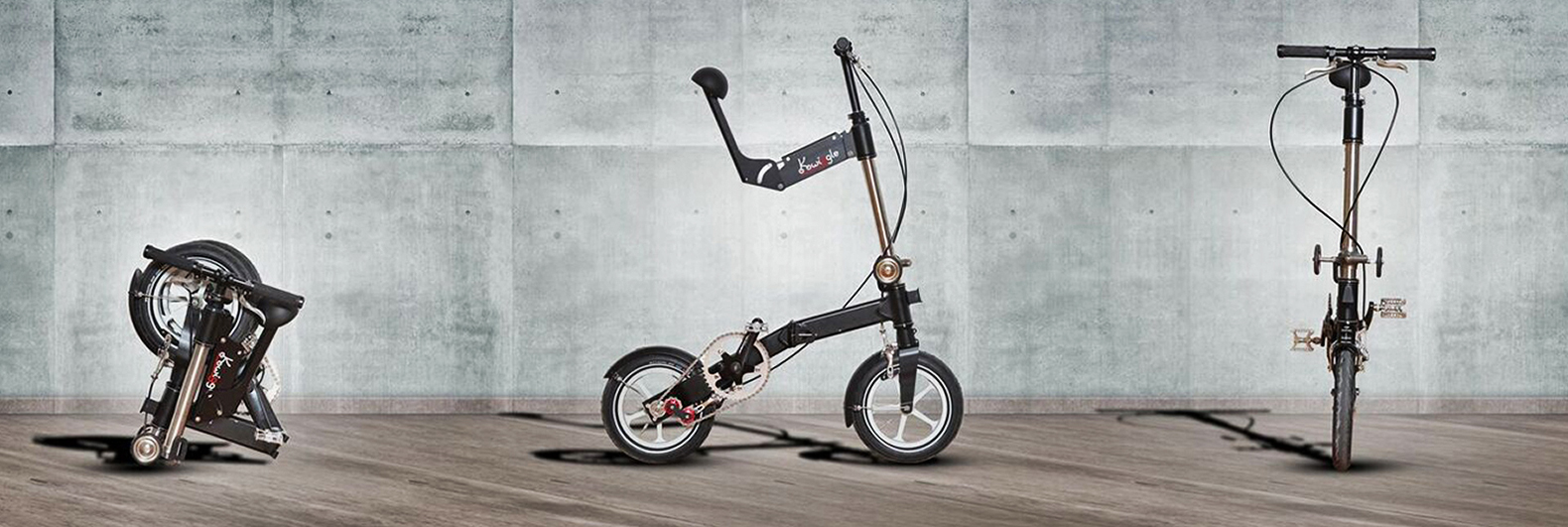 """The world's """"most compact folding bike"""" fits in your carry-on luggage"""