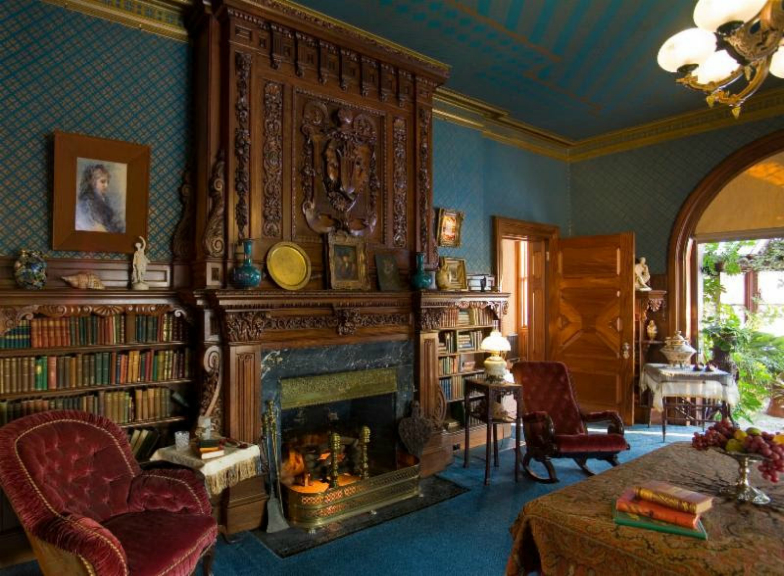 Mark Twain Museum hartford connecticut writers cottage writers space library space & Mark Twain\u0027s personal library opens to aspiring writers   Inhabitat ...