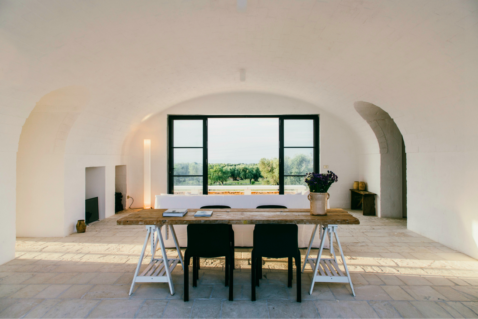 Italian farmhouse turned into exquisitely sustainable summer retreat