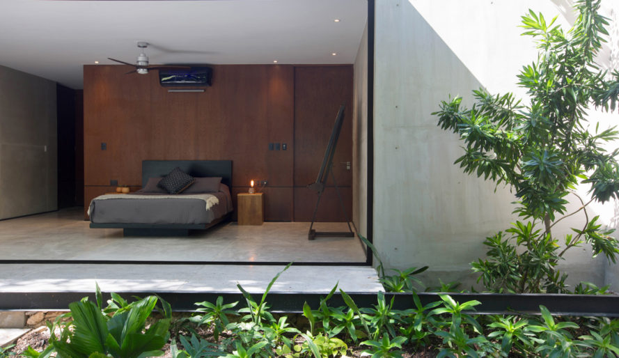 PM House, FGO Arquitectura, Yucatan, low-maintenance, Mexico, natural ventilation, green architecture, movable walls, swimming pool