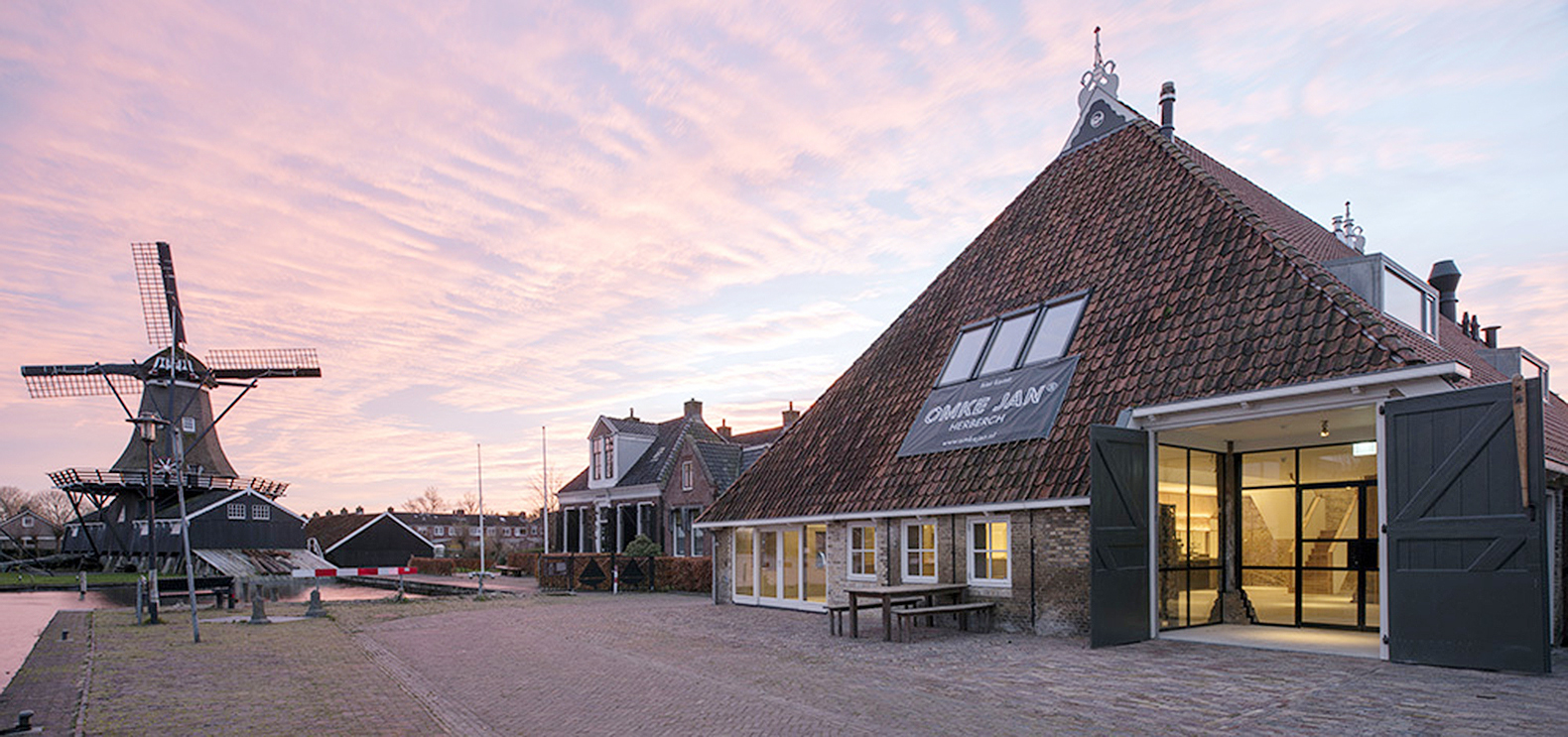 An Extensive Renovation Turned This Historic Farmhouse In The Netherlands Into A Vibrant Meeting Place That Sources Its Food From Local Farms Architecture