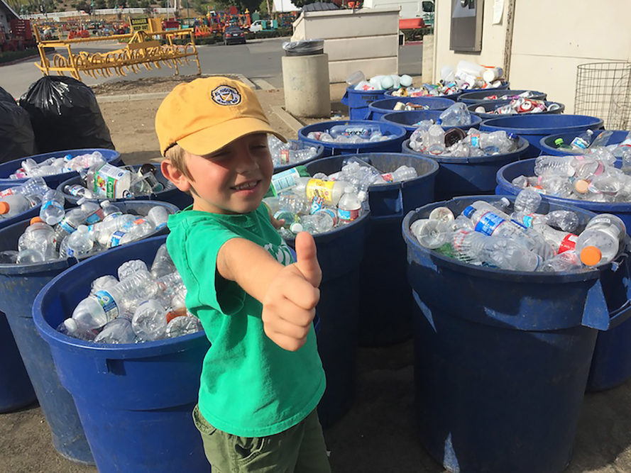 Ryan Hickman, Ryan's Recycling Company, recycling, recycling company, recycle, recycled, Orange County, California, bottle, bottles, plastic, plastic bottle, plastic bottles, glass, glass bottle, glass bottles, aluminum, aluminum cans, cans, kid, kids, green kids, eco-friendly kids, child, children