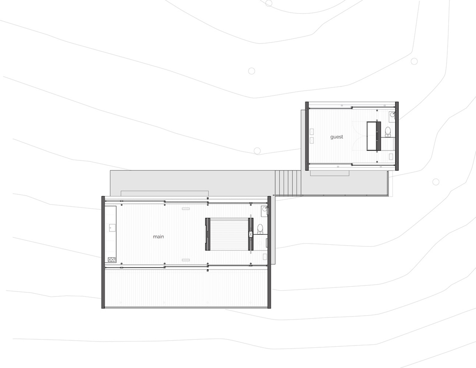 Apple design director perfects a prefab home into an ultra-minimal, modern dwelling